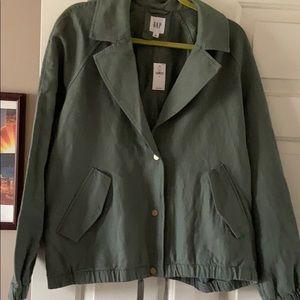 NWT GAP Linen Jacket